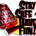 New Years - Stay Safe clip art